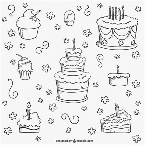 cake doodle ideas 145 best images about birthday on birthday