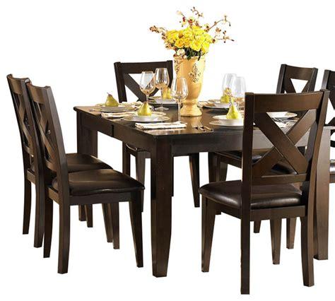 10 piece dining room set shop houzz homelegancela inc homelegance crown point 10