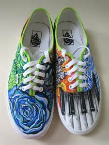 Hand Painted Vans Shoes