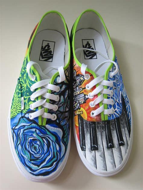 shoe paint customized painted shoes