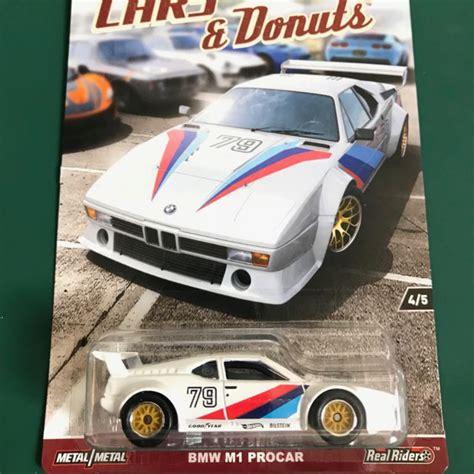 Hotwheels Bmw M1 Procar Cars And Donuts hotwheels bmw p1 procar cars donuts real riders car culture wheels toys bricks