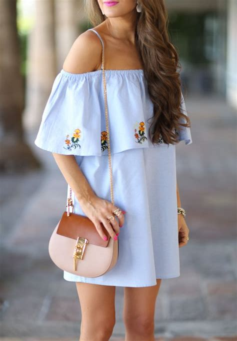 pinterest spring summer fadhion and style off the shoulder spring spring it on pinterest