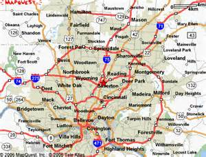 us map showing cincinnati cincinnati ohio on state map pictures to pin on