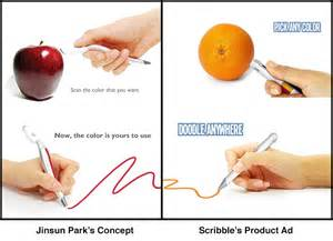 pen that scans colors the scribble pen scans colors then reproduces them core77