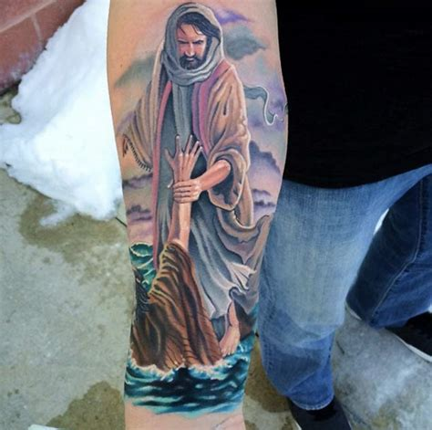 christian forearm tattoo designs 60 heartwarming christian designs and ideas