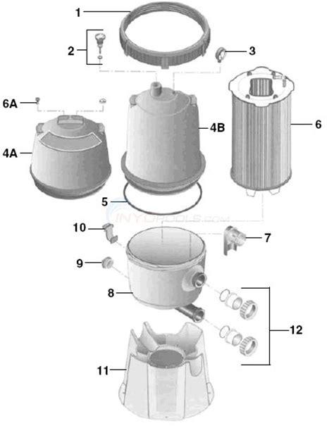 sta rite pool parts diagram sta rite system 2 modular de plde series parts