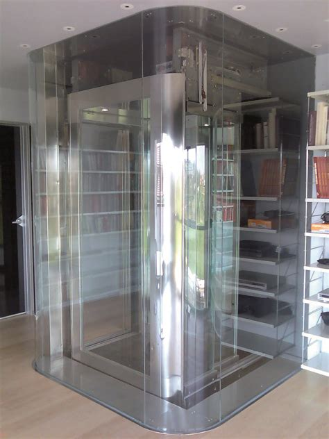 glass hydraulic door luxury domestic lift with a glass cabin http acelifts