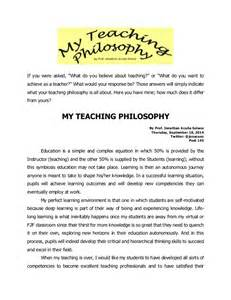 My Educational Philosophy Essay by Philosophy Of Education Pictures To Pin On Pinsdaddy