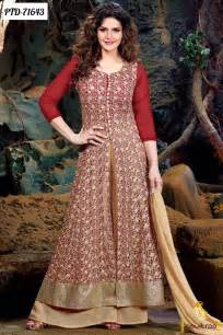 Bollywood celebrities fashion designer anarkali dresses