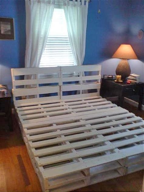 diy pallet bed frame diy pallet bed frames for your bed room pallets designs