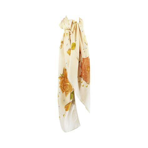 Big Hermes Free Scarf hermes floral print scarf or shawl for sale at 1stdibs