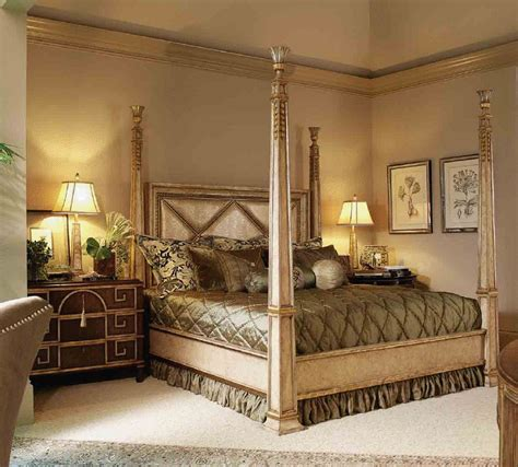 four post bedroom set high end master bedroom set four poster bed embossed