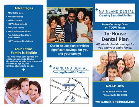 in house dental plans dental insurance plan pleasantville atlantic city nj