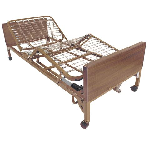 twin bed with side rails maxiaids full electric twin size bed w full side rails pkg
