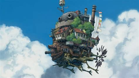howls moving castle howl studio howl s moving castle studio ghibli wallpaper