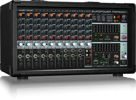 Mixer Power behringer pmp2000d 14 channel powered mixer 2000w pssl