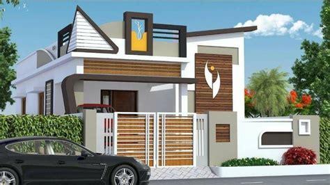 latest single floor house design indian house single