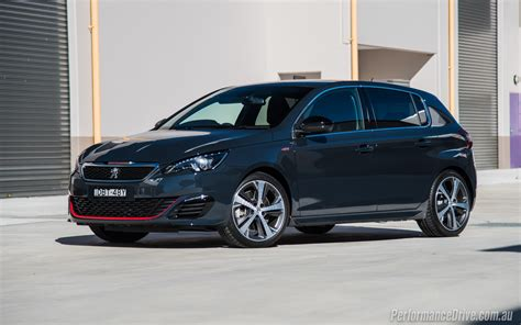 peugeot 308 gti 2016 2016 peugeot 308 gti 250 review video performancedrive