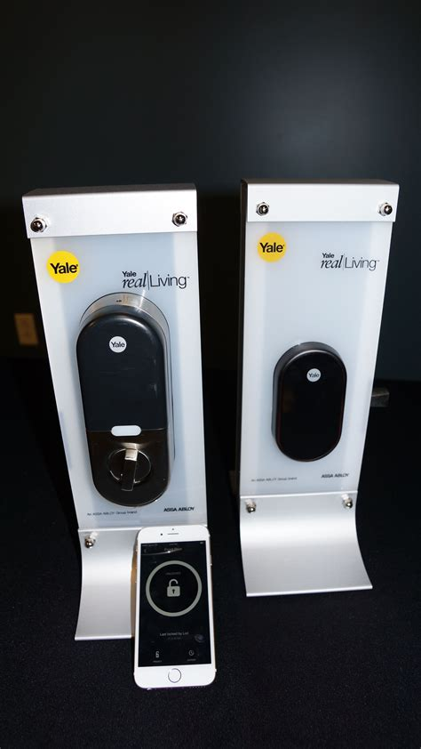 nest door lock and safety yale s newest lock equal parts safety style and smarts