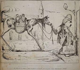Juan Rafael Allende El Pequn Y Los Rasgos | surplastica caricatura y pol 237 tica en chile del siglo xix