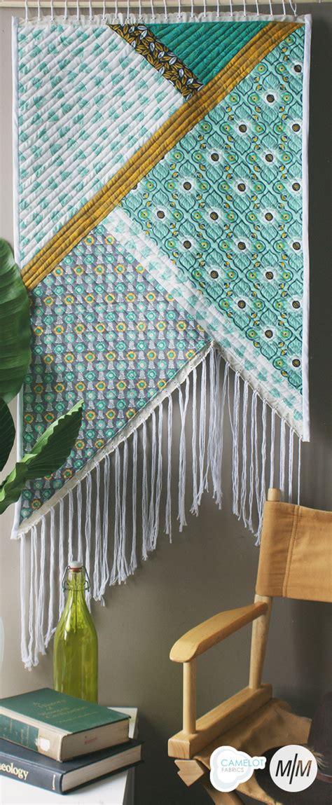 fringe wall hanging sewtorial