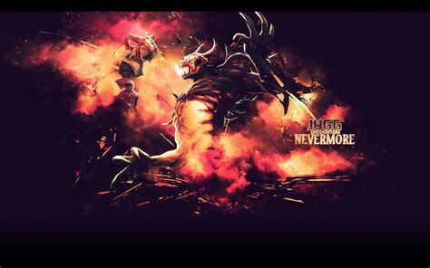 wallpaper dota 2 nevermore dota 2 nevermore wallpapers 1680x1050 402320