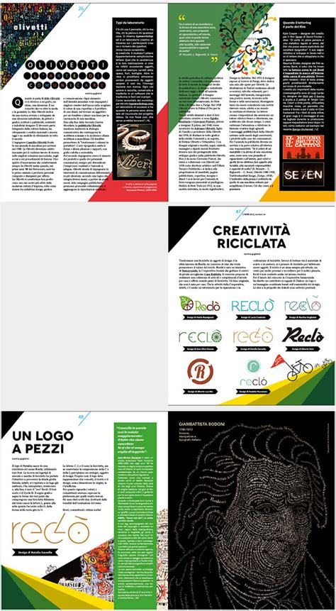 layout school magazine l ink a graphic design school magazine on behance