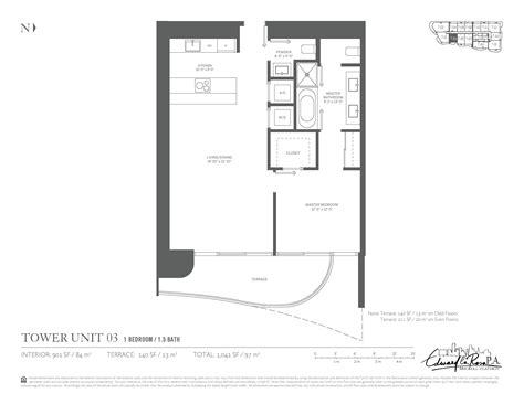 flatiron building floor plan brickell flatiron tower unit 3 floor plans miami condo