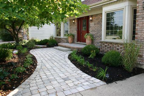 nice walkway ideas for plants landscape ideas east side front o