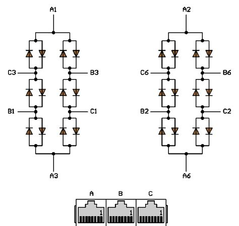 diode circuits in parallel building a passive ethernet hub with anti parallel diodes electrical engineering stack exchange