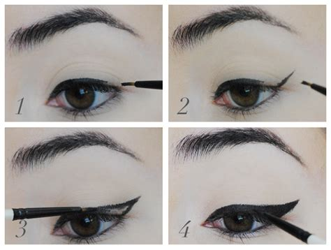 Cara Pakai Eye Liner tutorial the cat eye effect