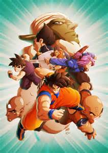 kickass collection dragon ball fan art