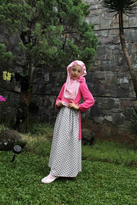 Lyla Biru Al layla islamic fashion gaun kanak kanak muslim princess