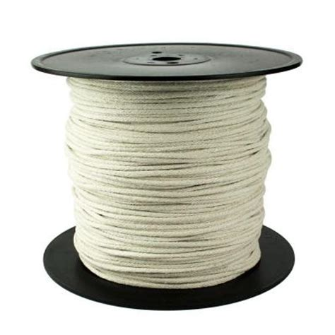 Cotton Rope Home Depot by Crown Bolt 3 16 In X 1200 Ft Sash Cotton Rope 65260