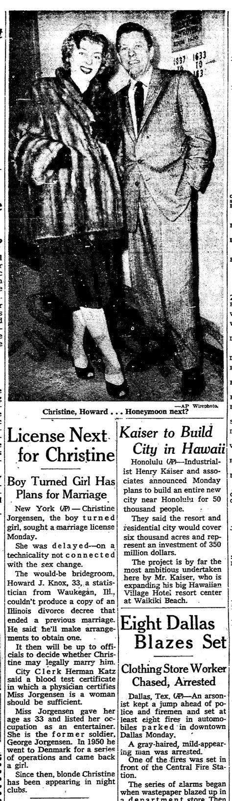 Boston Divorce Records 1959 Transgender News Transas City