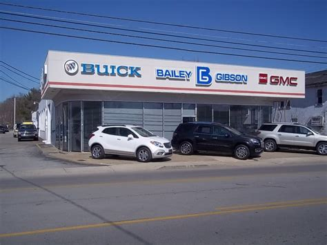 Pontiac Gmc by Bailey Gibson Buick Pontiac Gmc Inc Car Dealers