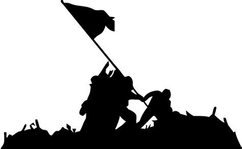 Personalized Name Wall Stickers military flag raising iwo jima vinyl decal sticker ebay