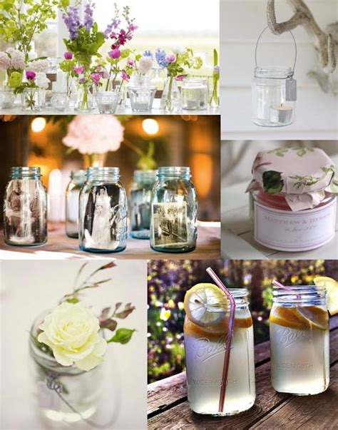 Decorating Ideas For Jelly Jars Jam Jar Wedding Decorations Mood Board Http