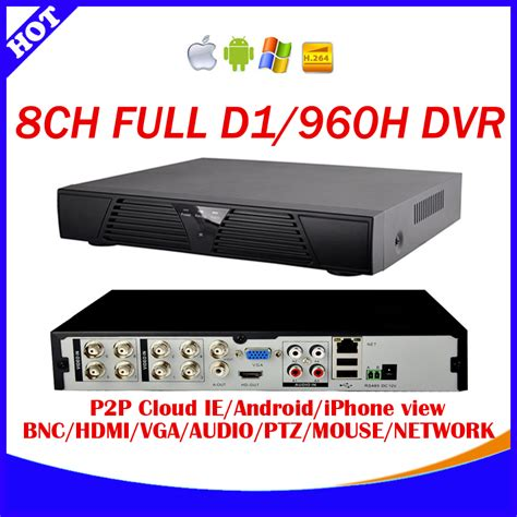 Dvr H 264 8 Channel Cloud Network Hybrid Murah 8 channel h 264 240fps real time d1 and 960h cctv standalone dvr cloud network hdmi 1080p