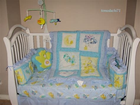 Care Crib Bedding by Brand New Carebear Care Time 11pc Crib Bedding