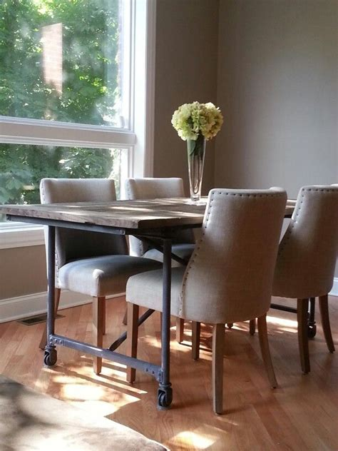 Restoration Hardware Flatiron Dining Table Restoration Hardware Flatiron Table Dining Room Pinterest Chairs Tables Best Free Home