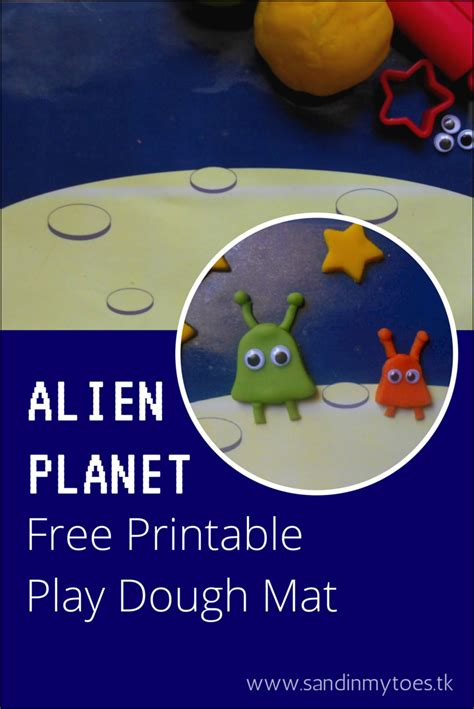 Planet Mat by Busy Play Dough Mat Free Printable Sand