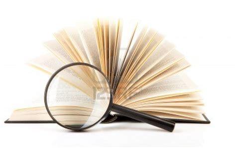 imagenes de libros sin fondo 10484979 libro abierto con lupa sobre fondo blanco educa