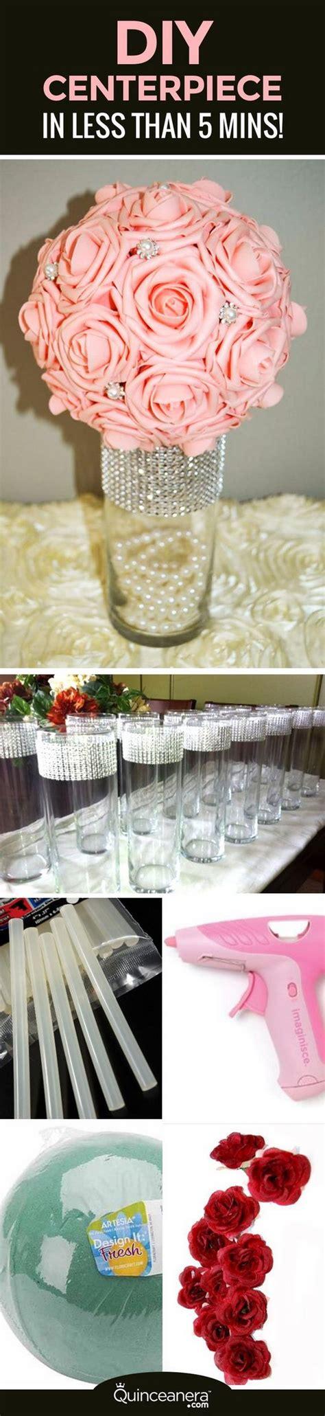 Diy Wedding Flower Ideas by Awesome Diy Wedding Centerpiece Ideas Tutorials