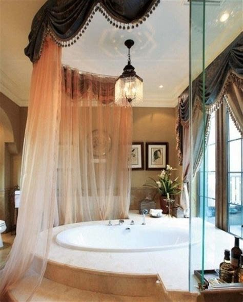 bathroom sheer curtains bathroom decor pinterest tubs curtains and bathroom