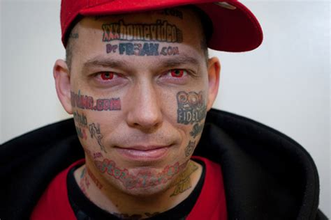 tattoo removal anchorage this guy needs your help to remove his pornsite face tattoos