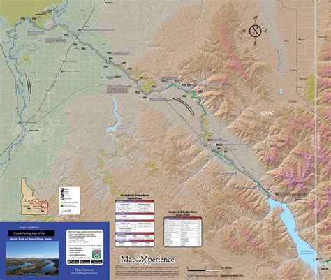digital gps mobile fishing maps south fork of the snake river fishing map map the xperience