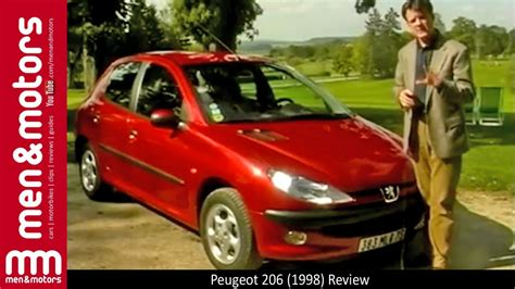 peugeot 206 review peugeot 206 1998 review youtube