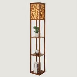 Bedside Floor Lamp chinese style modern minimalist wooden floor bedroom