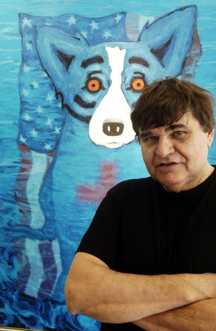 george rodrigue blue george rodrigue painter of blue dies at 69 the new york times